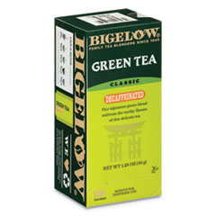 Decaffeinated Green Tea, Green Decaf, 0.34 lbs, 28/Box