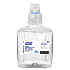 Education Advanced Hand Sanitizer Gentle and Free Foam, 1200 mL Refill, 3/Carton