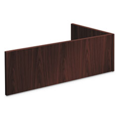 Foundation Reception Station - For Returns, 42 1/4w x 24d x 13h, Mahogany
