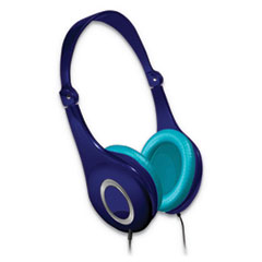 Safe Soundz Volume Limiting Noise Cancellation Headphone, Blue