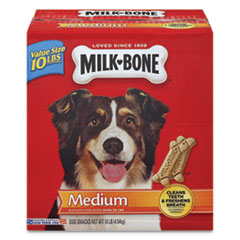 Original Medium Sized Dog Biscuits, Original, 10 lbs, 10/Carton