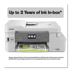 MFCJ995DWXL XL Extended Print INKvestment Tank Color Inkjet All-in-One Printer with Up to 2-Years of Ink In-Box