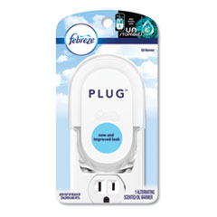 "PLUG Air Freshener Warmer, 2.5"" x 3"" x 4"", Off White, 4/Carton"