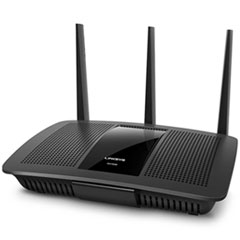 Linksys Max-Stream Ac1900 Dual-Band Wi-Fi Router, 5 Ports, 2.4/5Ghz