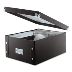 Media Storage Box, Holds 120 Slim/60 Std. Cases