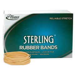 "Sterling Rubber Bands, Size 33, 0.03"" Gauge, Crepe, 1 lb Box, 850/Box"