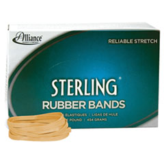 "Sterling Rubber Bands, Size 64, 0.03"" Gauge, Crepe, 1 lb Box, 425/Box"