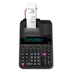 Casio Dr-120R Printing Calculator, 2 Print, 3.5 Lines/Sec