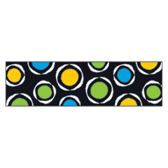 "Bolder Borders, 2 3/4"" x 42"", Bold Strokes Circles, Assorted"