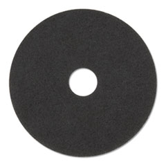 "Stripper Floor Pads 7200, 14"" Diameter, Black, 5/Carton"