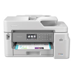 MFCJ5845DW INKvestment Tank Color Inkjet All-in-One Printer with Up to 1-Year of Ink In-Box