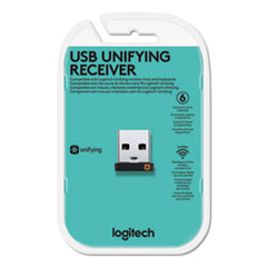 Logitech Usb Unifying Receiver, Black