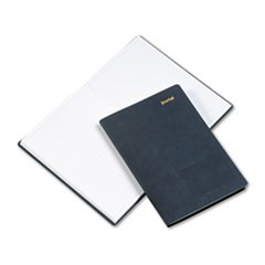 Leatherlike Journal, Black Polyurethane Cover, Lined Pages, 5 1/2 x 7 3/4
