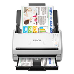 DS-530 Color Document Scanner, 300 dpi Optical Resolution, 50-Sheet Duplex Auto Document Feeder