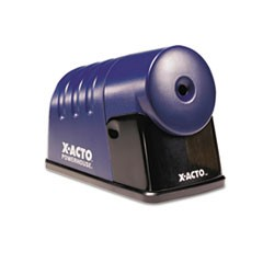 Powerhouse Desktop Electric Pencil Sharpener, Translucent Blue