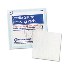 "SmartCompliance Gauze Pads, 3"" x 3"", 5/Pack"