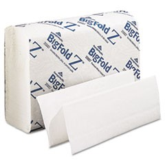 GPC 208-87 WHITE Z-FOLD TOWEL 10/220
