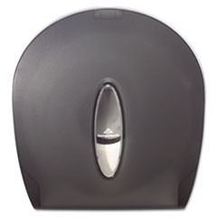 Jumbo Jr. Bathroom Tissue Dispenser, 10 3/5x5 39/100x11 3/10, Translucent Smoke