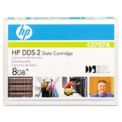 "1/8"" DDS-2 Cartridge, 120m, 4GB Native/8GB Compressed Capacity"
