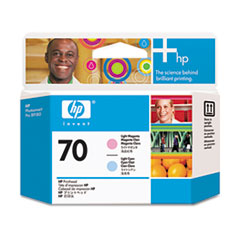 HP 70, (C9405A) Light Magenta/Light Cyan Printhead