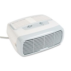 99% HEPA Desktop Air Purifier, 110 sq ft Room Capacity, White