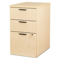 10500 Series Box/Box/File Mobile Pedestal, 15 3/4w x 22 3/4d x 28h,Natural Maple