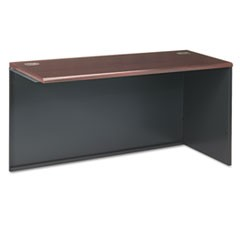 38000 Series Return Shell, Right, 60w x 24d x 29-1/2h, Mahogany/Charcoal