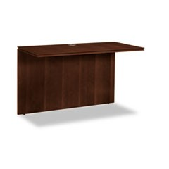 Arrive Wood Veneer Series Bridge, 48w x 24d x 29-1/2h, Shaker Cherry