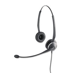 GN2125 Binaural Over-the-Head Telephone Headset w/Noise Canceling Mic