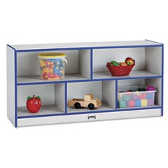 Rainbow Accents Single Storage Units, 48w x 15d x 24-1/2h, Purple/Freckled Gray