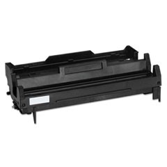 Remanufactured Black Drum Unit, Replacement for Oki 43501901, 25,000 Page-Yield