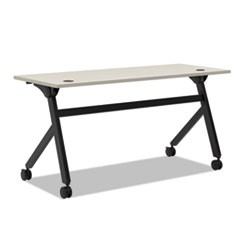 Multipurpose Table Flip Base Table, 60w x 24d x 29 3/8h, Light Gray