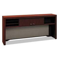 Enterprise Collection 60W Low Hutch, Mocha Cherry