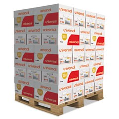 Copy Paper, 92 Bright, 20lb, 8.5 x 11, White, 500 Sheets/Ream, 10 Reams/Carton, 40 Cartons/Pallet