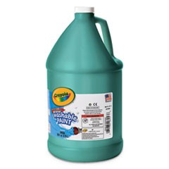 Washable Paint, Green, 1 gal