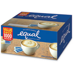 Equal Zero Calorie Sweetener, 0.035 Oz Packet, 1000/Box