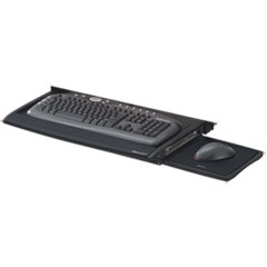 Deluxe Keyboard Drawer, 20-1/2w x 11-1/8d, Black