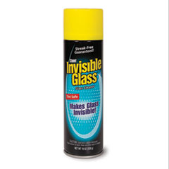Premium Glass Cleaner, 19 oz Aerosol, 6/Carton