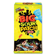 Sour Patch Kids Fruit Flavored Candy, Grab-And-Go, 240-Pieces/Box