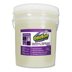 Concentrated Odor Eliminator and Disinfectant, Lavender Scent, 5 gal Pail