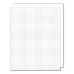 Foam Grid Board, 11 x 14, White, 2/Pack