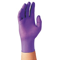 PURPLE NITRILE Exam Gloves, 242 mm Length, Large, Purple, 1000/Carton