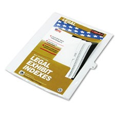 "80000 Series Legal Index Dividers, Side Tab, Printed ""N"", 25/Pack"