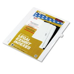 "80000 Series Legal Index Dividers, Side Tab, Printed ""42"", 25/Pack"