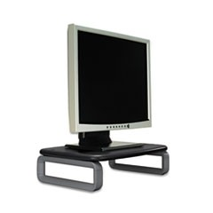 Monitor Stand Plus with SmartFit System, 15 1/2 x 12 x 6, Black/Gray