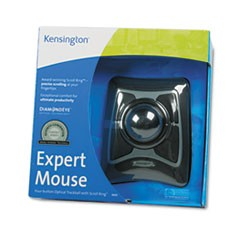 Trackball Expert Mouse, ScrollRing, Black/Silver