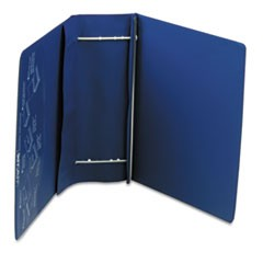 "VariCap Expandable Binder, 2 Posts, 6"" Capacity, 11 x 8.5, Blue"