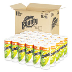 Paper Towels, 2-Ply, White, 36 Sheets/Roll, 30 Rolls/Carton