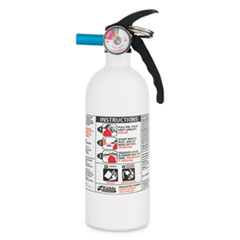 FX511 Automobile Fire Extinguisher, 5 B:C, 100psi, 14.5h x 3.25 dia, 2lb
