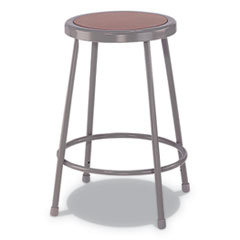 Industrial Metal Shop Stool, 30